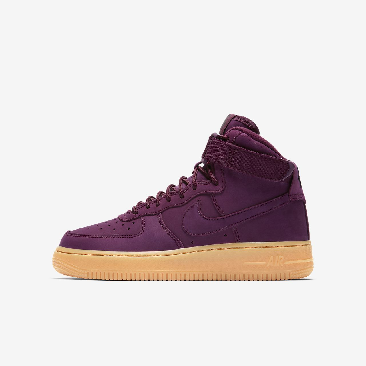 Nike Air Force 1 High WB Older Kids' Shoe | Velvet shoes