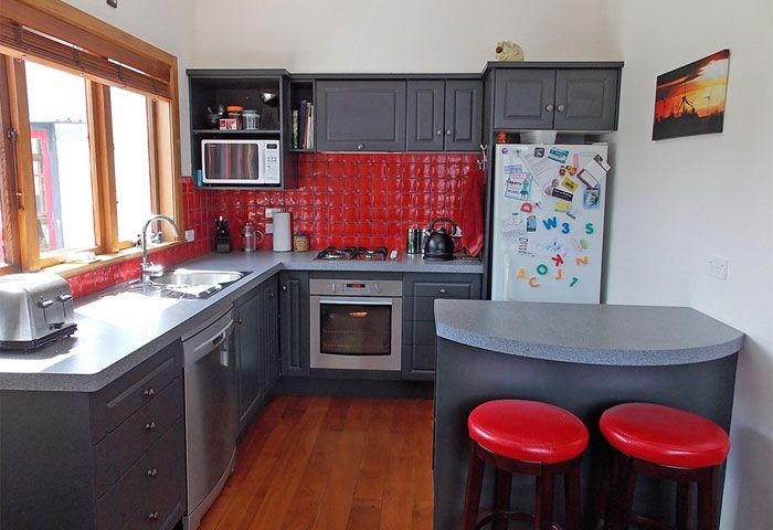 Resene Island Spice on Kitchen walls   Small kitchen decor ...