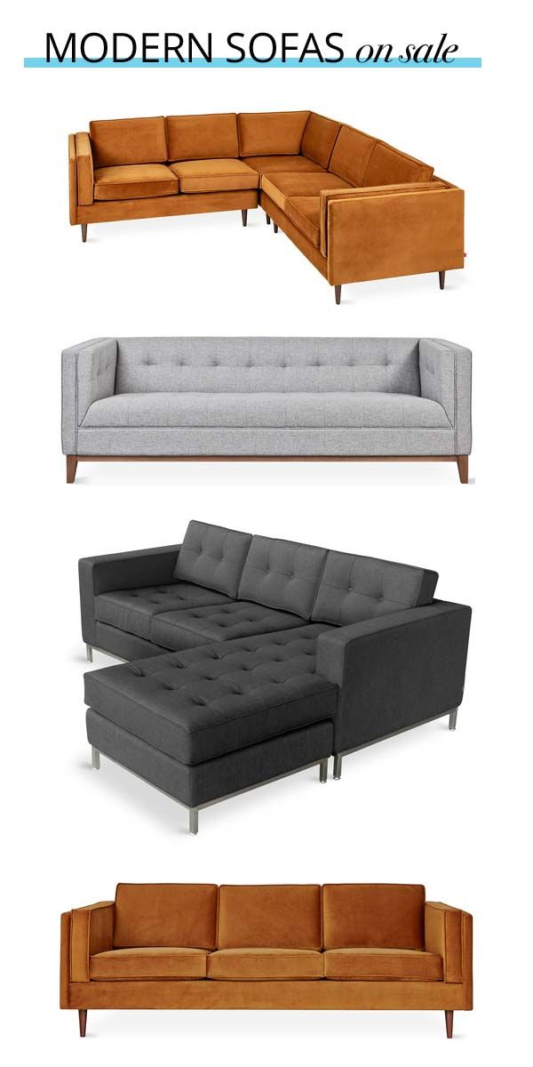 These modern sofas are on sale. Browse sofas and couches at ...