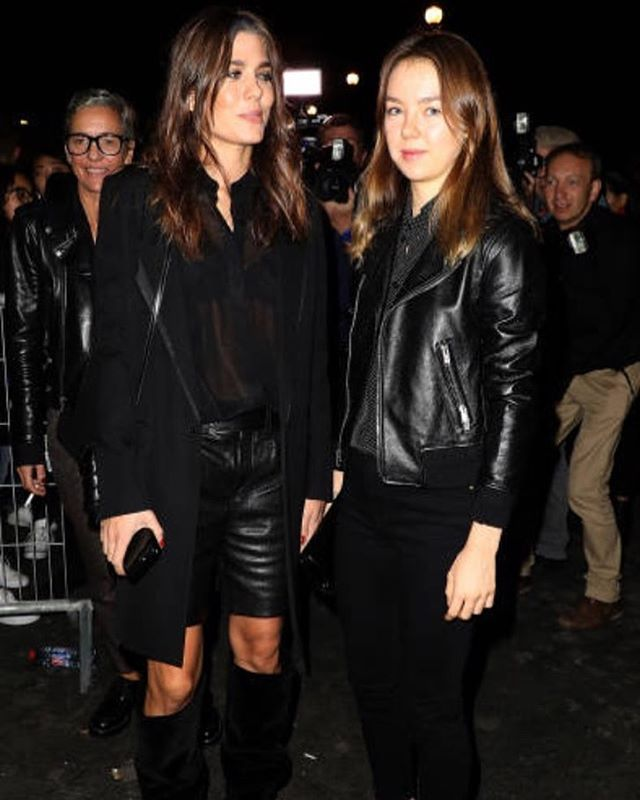 Sisters! Charlotte Casiraghi And Princess Alexandra Of