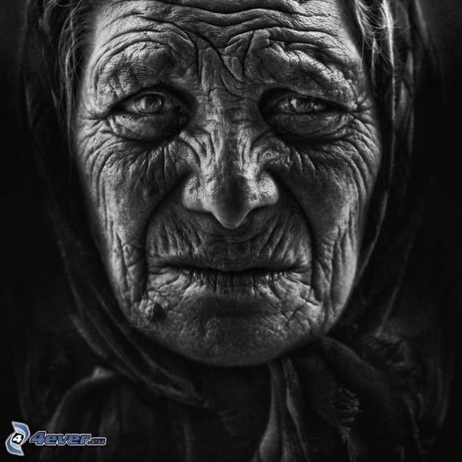 Alte Frau Portrait Fotografie Ideen Alte Frau Gesicht