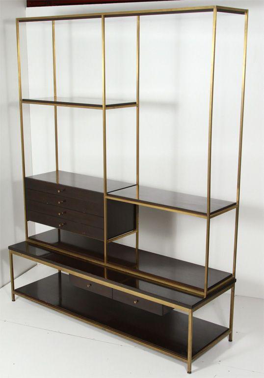 Paul Mccobb Irwin Collection Wall Unit Room Divider Image 2 Modern Retro Furniture Vintage Bookcase Zen Furniture