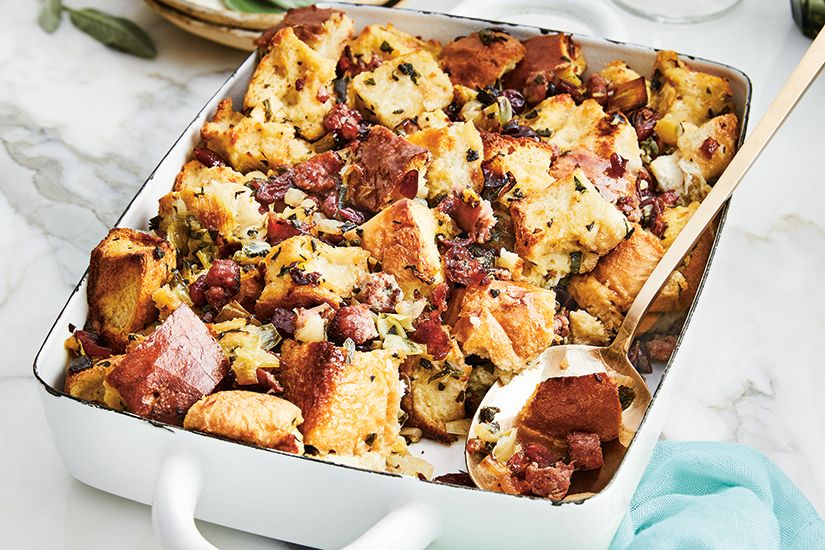 Sausage Herb Dressing Canadian Living Turkey Stuffing Recipes Easy Casserole Recipes Stuffing Recipes