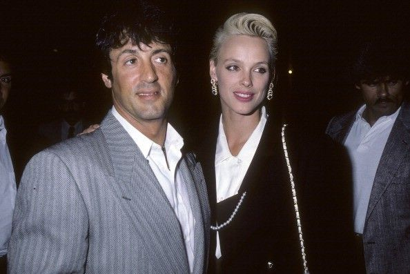 Sylvester Stallone & Brigitte Nielson  The highly publicized relationship went down hill fast. They got together during the height of hisRockycareer. Sylvester married Brigitte in 1985 while Brigitte was at the height of her own modeling and acting career.After just two years of marriage, Sylvester and Brigitte filed for divorce.Both have racked up the marriages over the last couple years. Stallone has been married three times while Nielson's marriages come out to five total!