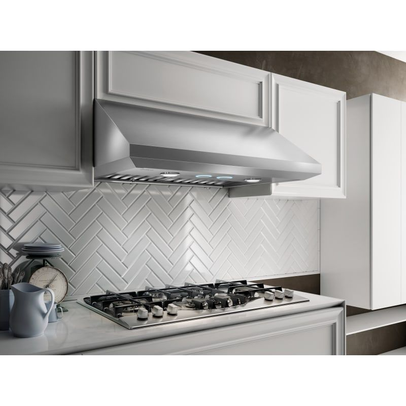 Elica Ecv636s3 Stainless Steel 170 600 Cfm 36 Inch Wide Under Cabinet Range Hood With Hush System And Heat Guard Technology In 2021 New Kitchen Cabinets Under Cabinet Range Hoods Kitchen Renovation