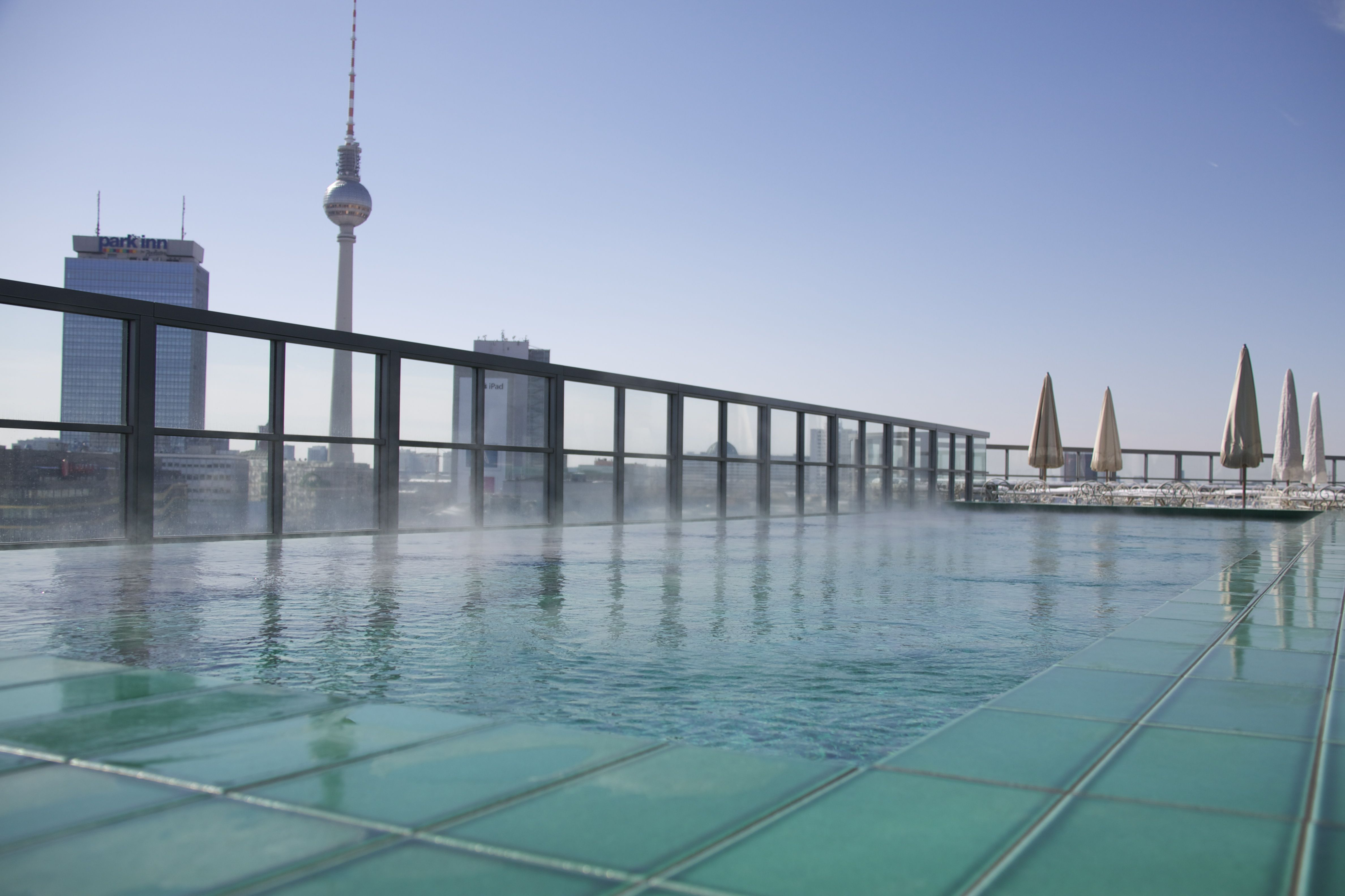 Rooftop Pool Soho House Berlin Places To Go