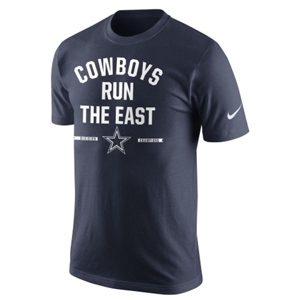 Dallas Cowboys Nike 2014 NFC East Division Champions T-Shirt - Navy Blue 568adbf35