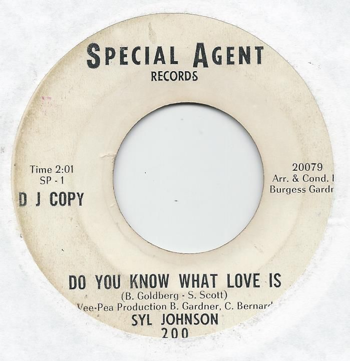 """archived! $ 328   Northern Soul- Syl Johnson On Special Agent (promo) """"do You Know Wha #vinyl https://t.co/xBOWLemnOm"""
