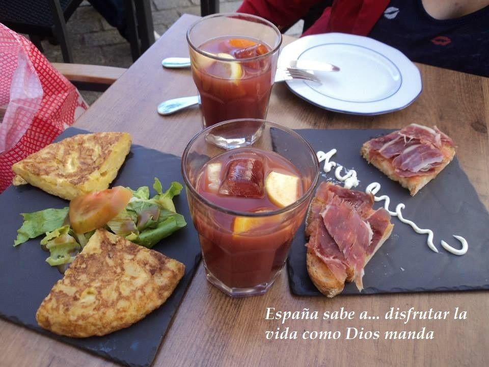 sabe a disfrutar la vida como dios manda! #tastingspain #saboreaespaña
