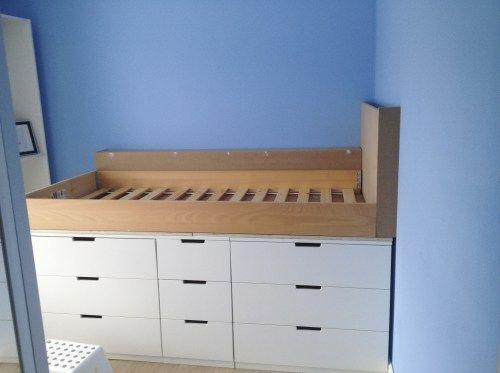 Ikea Küchenelemente ~ Diy how to make an ikea hack children s cabin bed with secret den