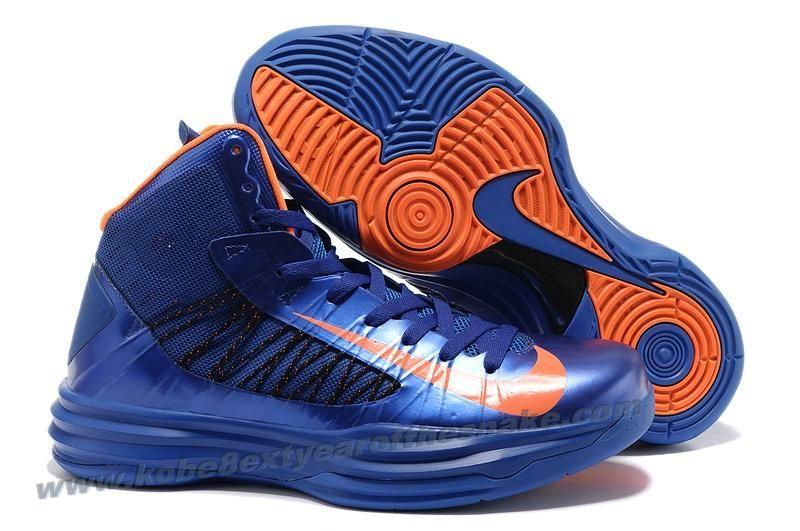 super popular 7289e 958e7 New Nike Lunar Hyperdunk X 2012 Olympic Blue Orange