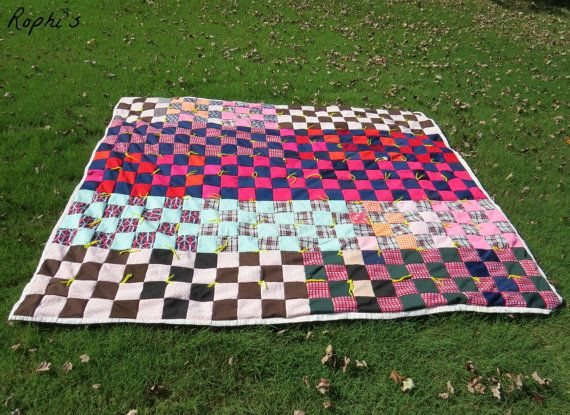 Vintage Quilt by Rophis on Etsy