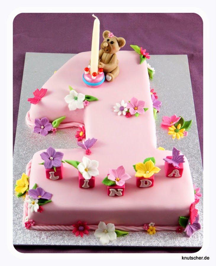Knutscher De Motivtorte Geburtstag Kuchen Madchen