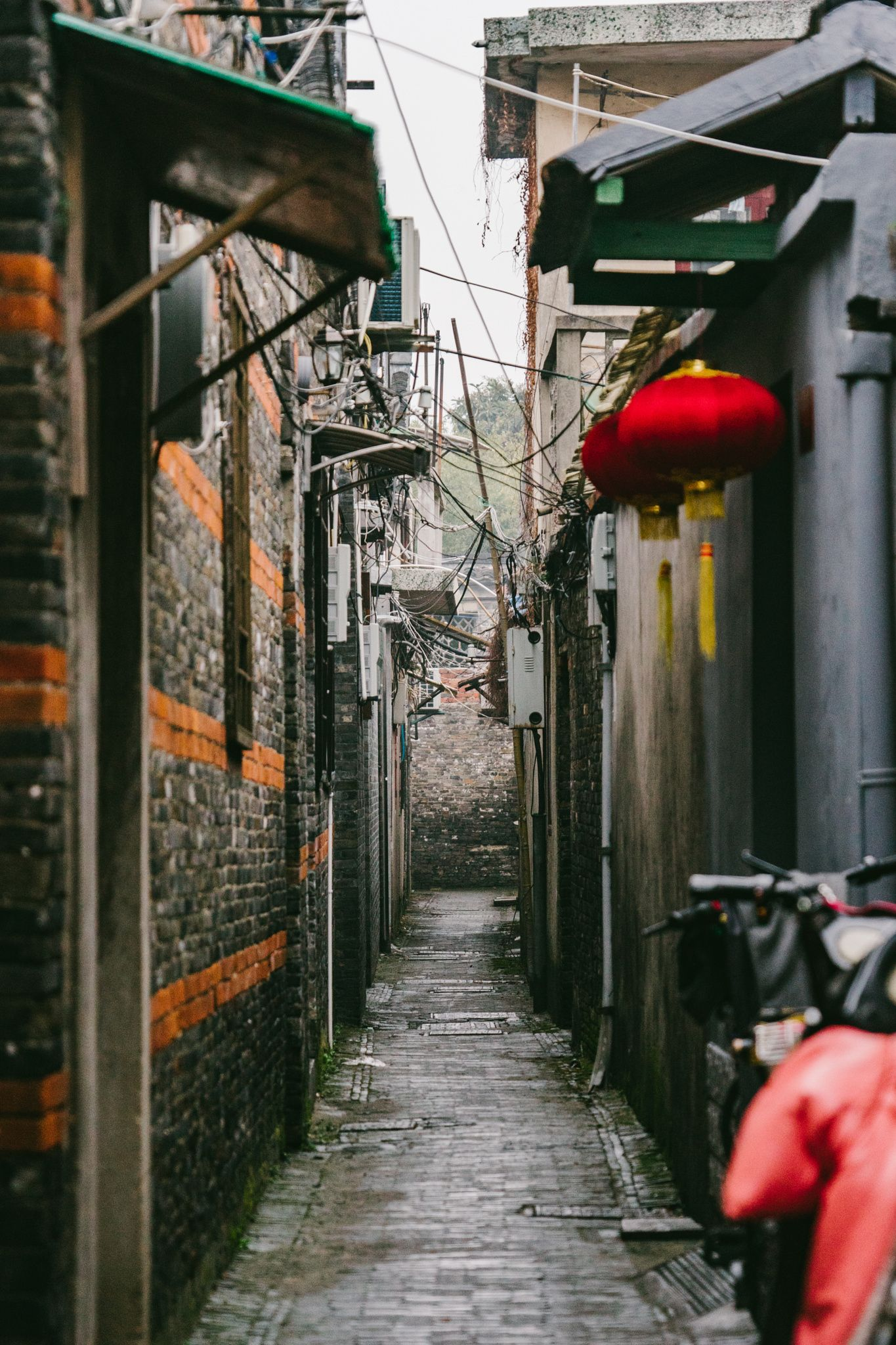 chinese old street -