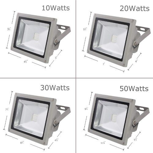 LOFTEK® 50W Waterproof Outdoor Security LED Flood Light Spotlight High Powered RGB Color Change(16 Different Color Tones) with Plug and Remote Control AC85V-265V 950WFL  Description:     This outdoor security light is fully waterproof and uses AC85v-265v. It is very energy efficient, has a very long life and does not produce very much heat. Light output colors comes in 4 main RGB colors(Red, Green, Blue and White).Total 16 different color tones.  It is your energy saving and healthy ..