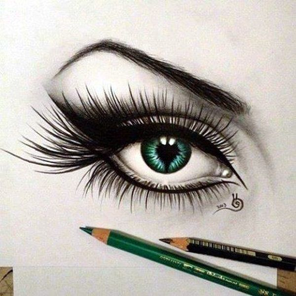 How to draw an eye 40 amazing tutorials and examples bored art