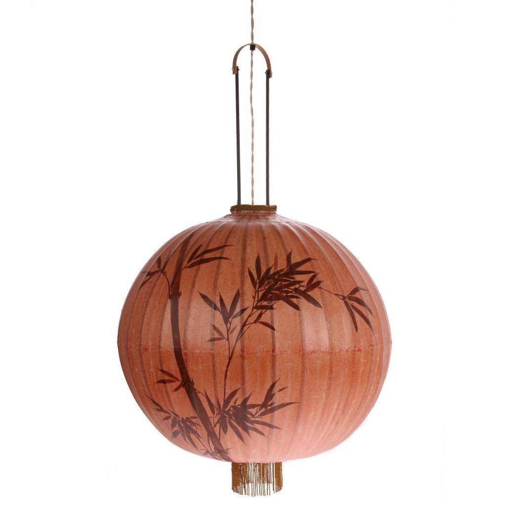 Hk Living Lanterne Coton Xl Couleur 60x60x58 92cm Anhanger Lampen Laternen Lampe Lampe