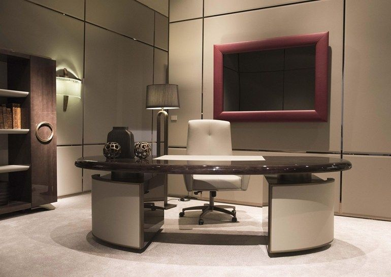 Haussmann Office Desk Haussmann Collection By Hugues