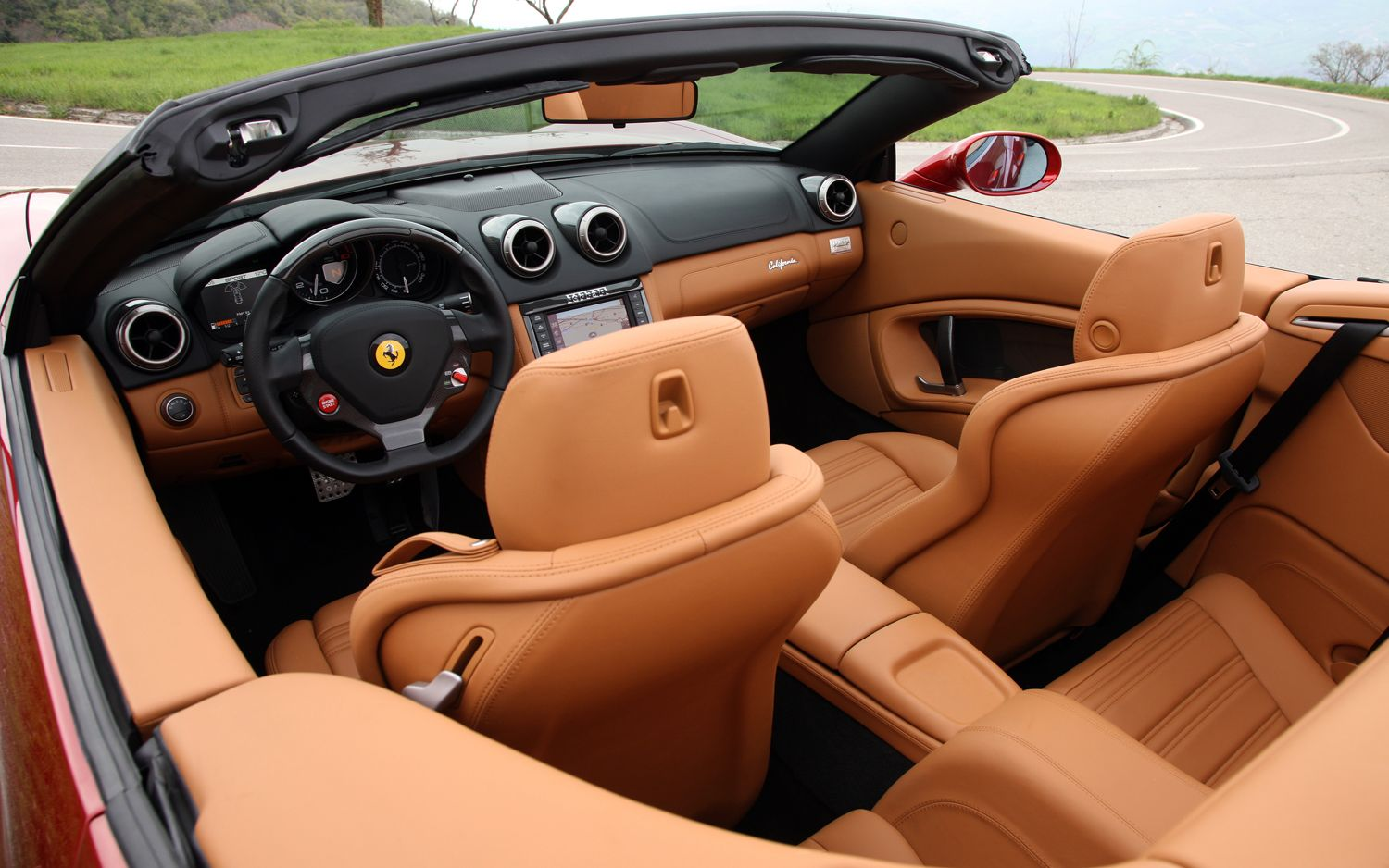 Ferrari California interior #16 | Ferrari California | Pinterest ...