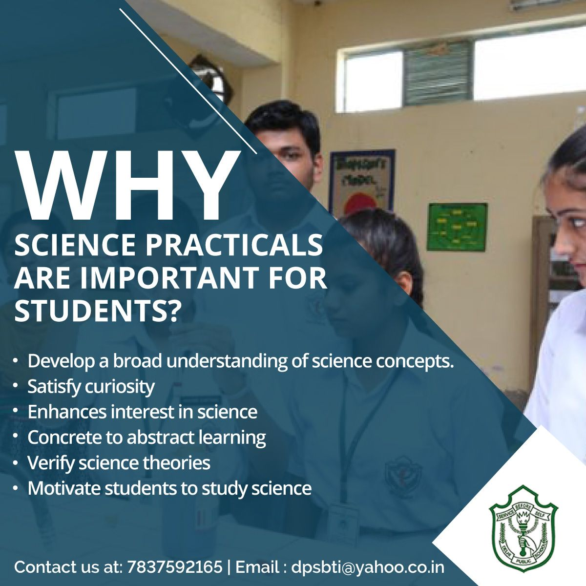 Science Is An Important Subject For The Students To