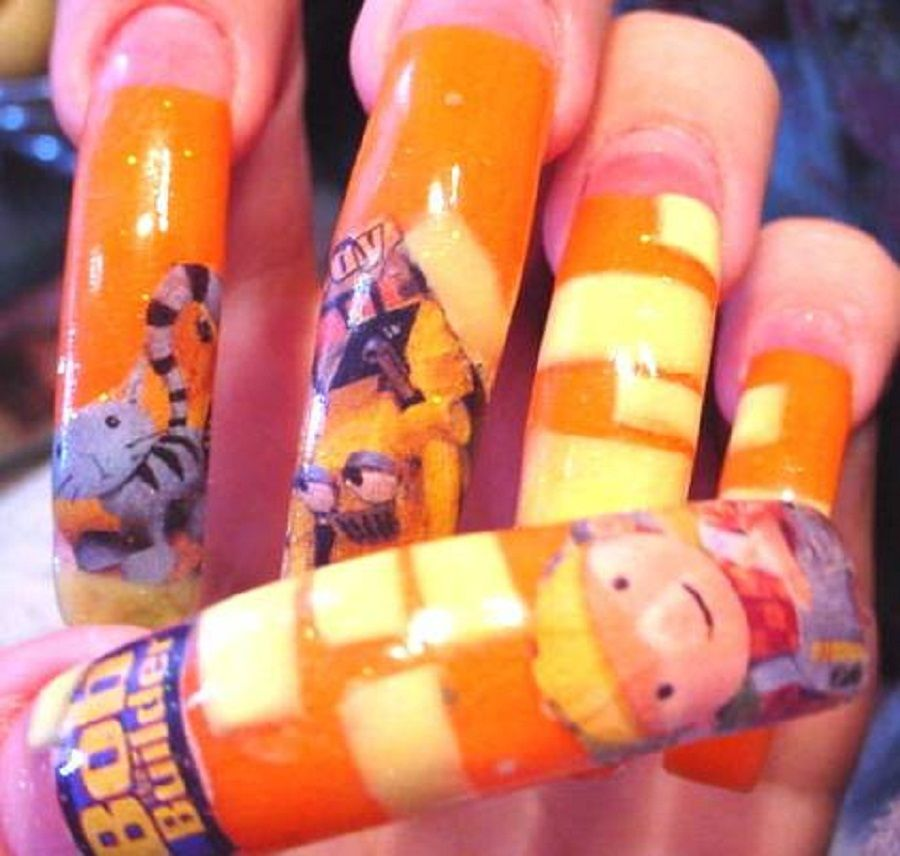 Cool Nail Designs for Kids for Long Nails with Prodigious 3D Design ...