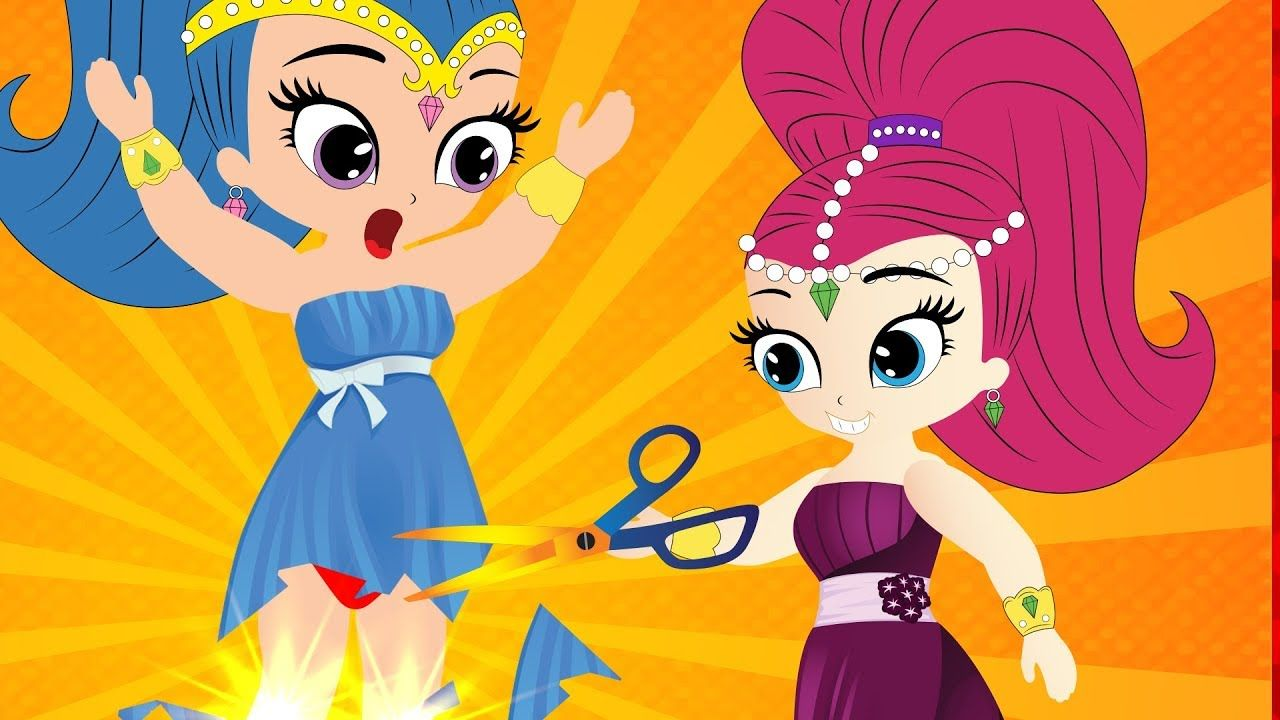 Shimmer and Shine Genies Divine - Shimmer and Shine fashion ...