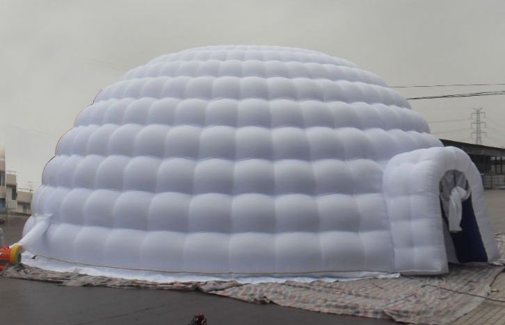 Yolloy blow up portable inflatable meeting igloo dome tent for sale