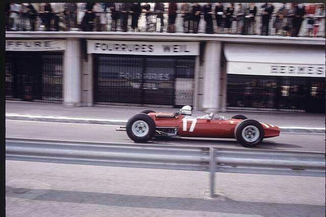 1965 Monaco Gp Lorenzo Bandini Ferrari 1512 F 12 17 Scuderia Ferrari 2nd Ph Forum Auto Com Classic Racing Cars Ferrari Lorenzo Bandini
