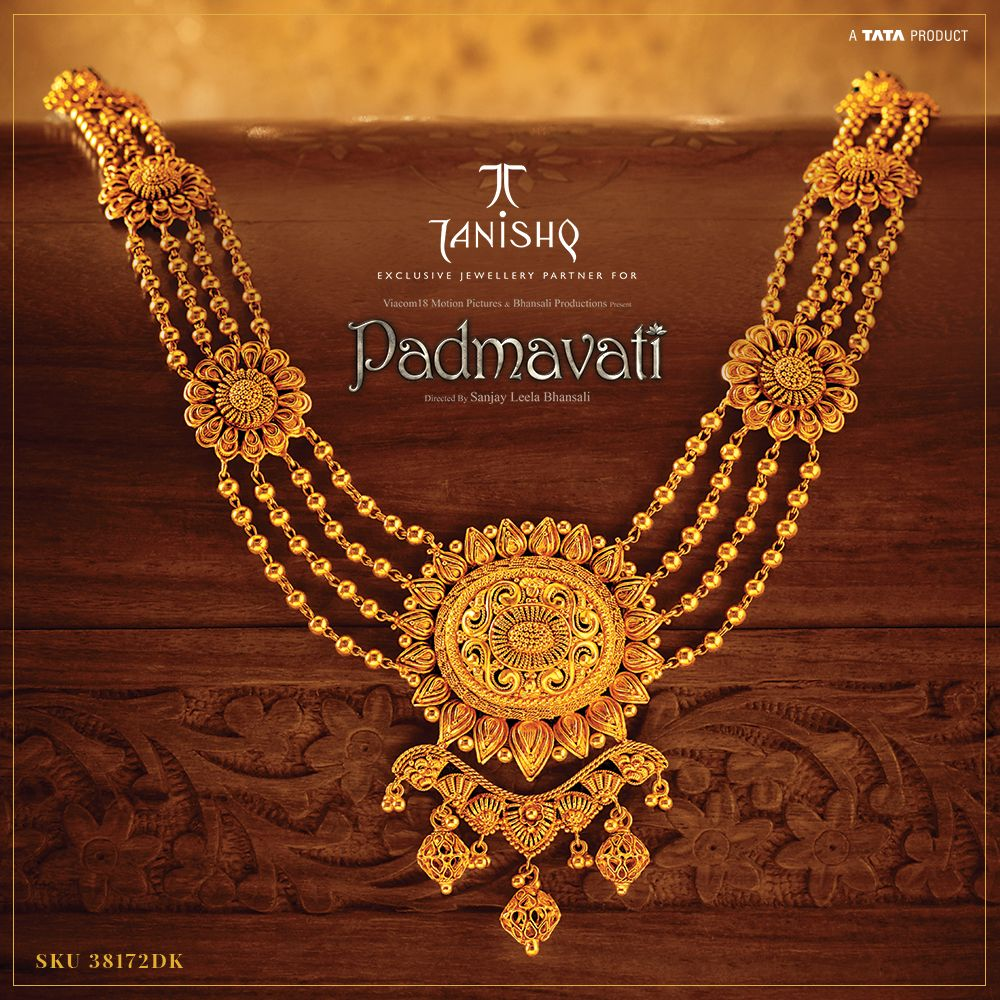 Tanishq Padmavati collection | Jewellery in 2019 | Gold ...
