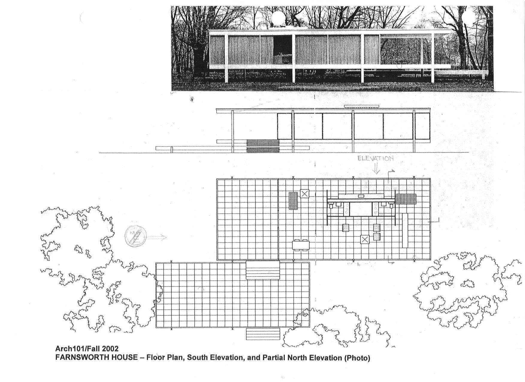 Farnsworth House Project Precedent Architecture