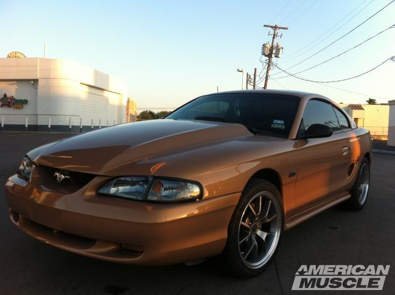 Mustang 3 In Cowl Hood Unpainted 94 98 All Mustang Sn95 Mustang Dream Cars