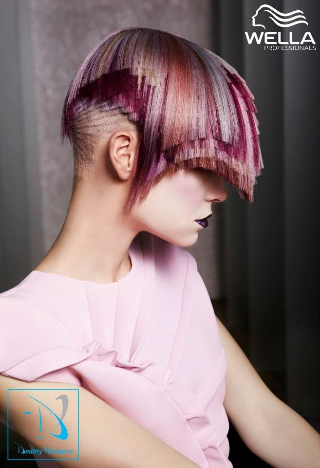 Styling Model Hair Color And Design Wella Professionals