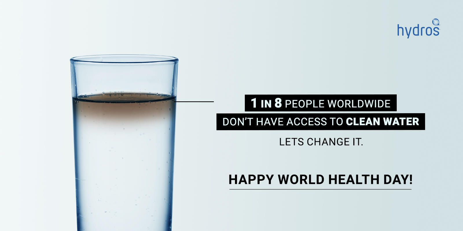 Access To Good Quality Water Is A Basic Right For All Human Beings And Plays An Essential Role In Life World Health Day Best Water Bottle Healthy Water Drinks