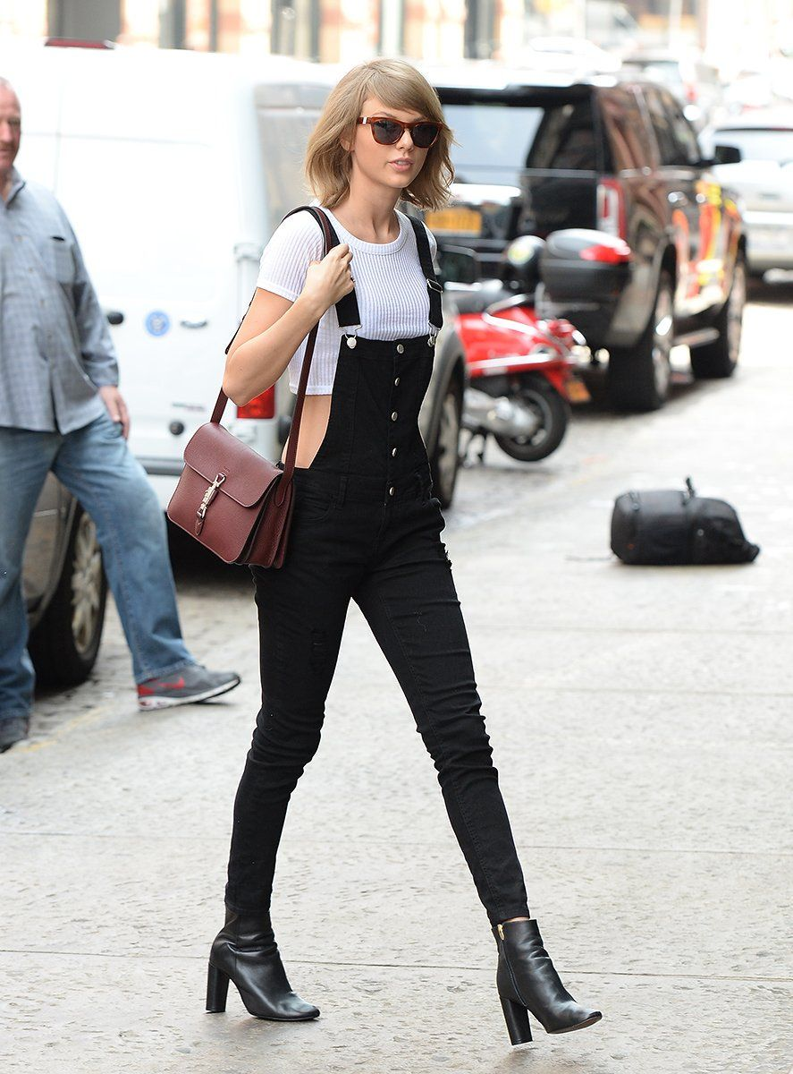 , Taylor Swift Brings Overalls Back with Polish, My Pop Star Kda Blog, My Pop Star Kda Blog