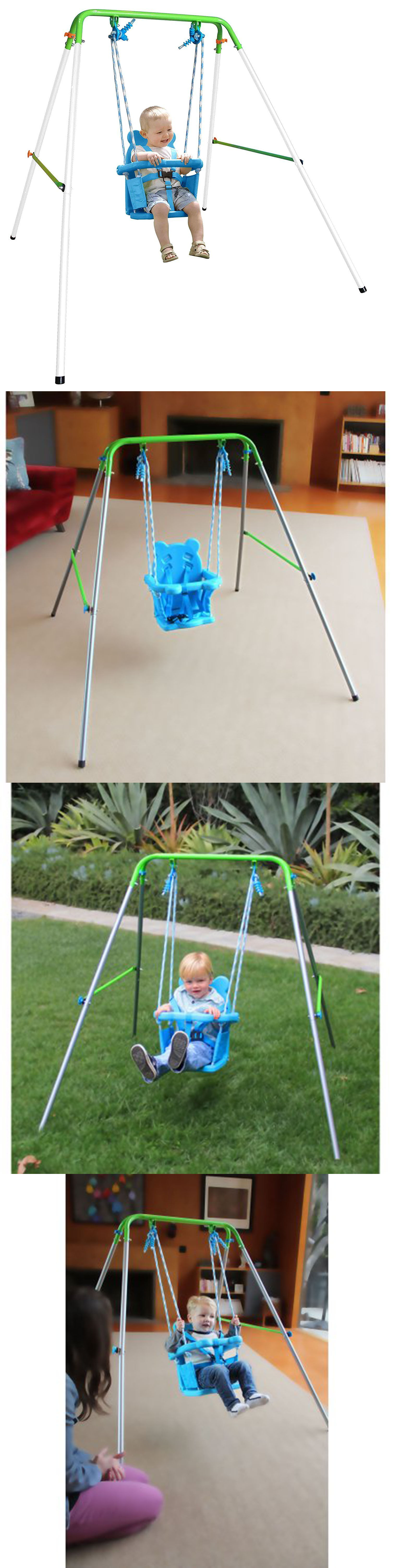 swings slides and gyms 16515 toddler kids baby swing set indoor