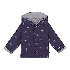 584a231a4 J by Jasper Conran - Baby boys  navy boat and whale print reversible ...