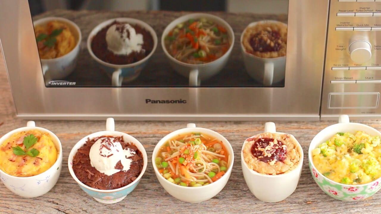 Astonishing Lunch Ideas For Kids At Home. Microwave Mug Peanut Butter and Jelly Sandwich  Meals Recipe Homemade ramen Ramen