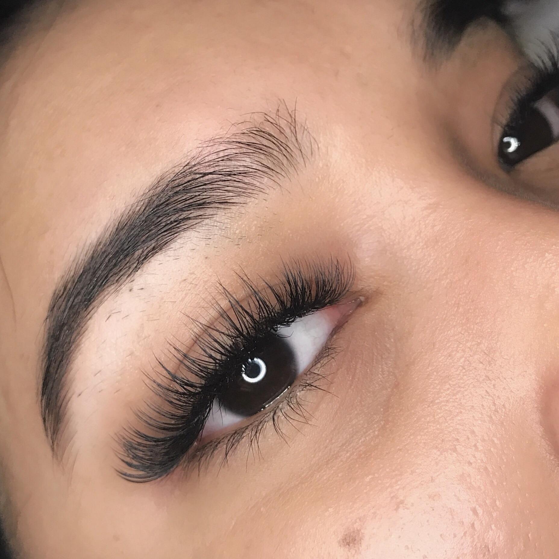 - Hybrid fullset $140 | Eyelash extensions styles, Eyelash ...