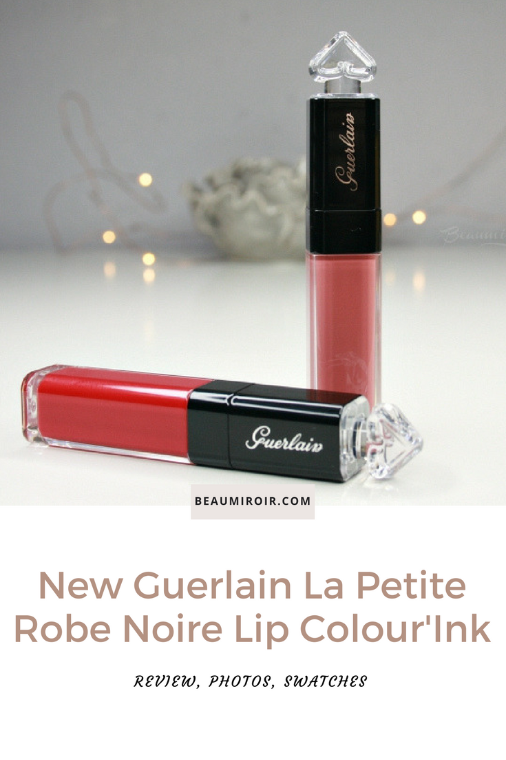 FrenchFriday new Guerlain La Petite Robe Noire Lip