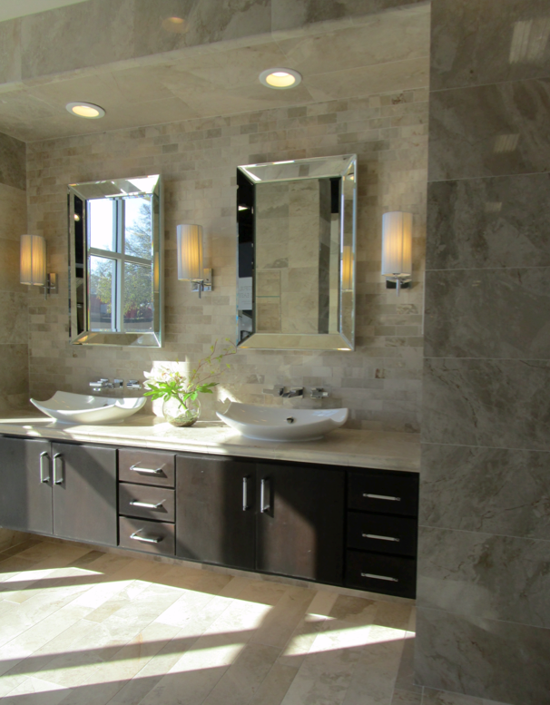 Royal Amber Marble Bathroom In Our Tampa Showroom My Work - Bathroom showroom tampa