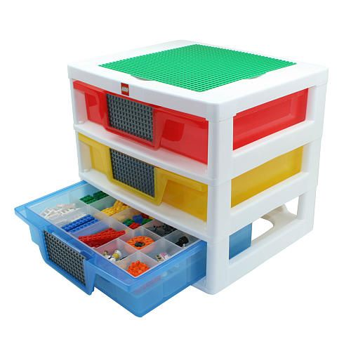 Lego  Drawer Workstation Tabletop Unit Iris Usa Toys