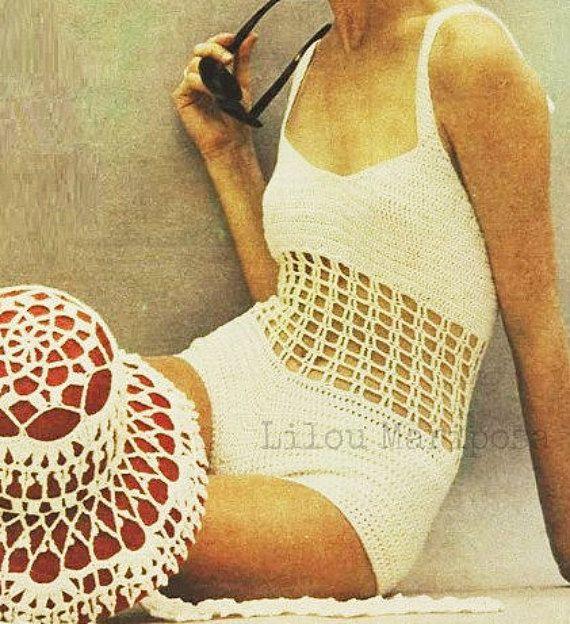 Crochet Swimsuit Pattern Crochet Hat Pattern Crochet Bikini Pattern