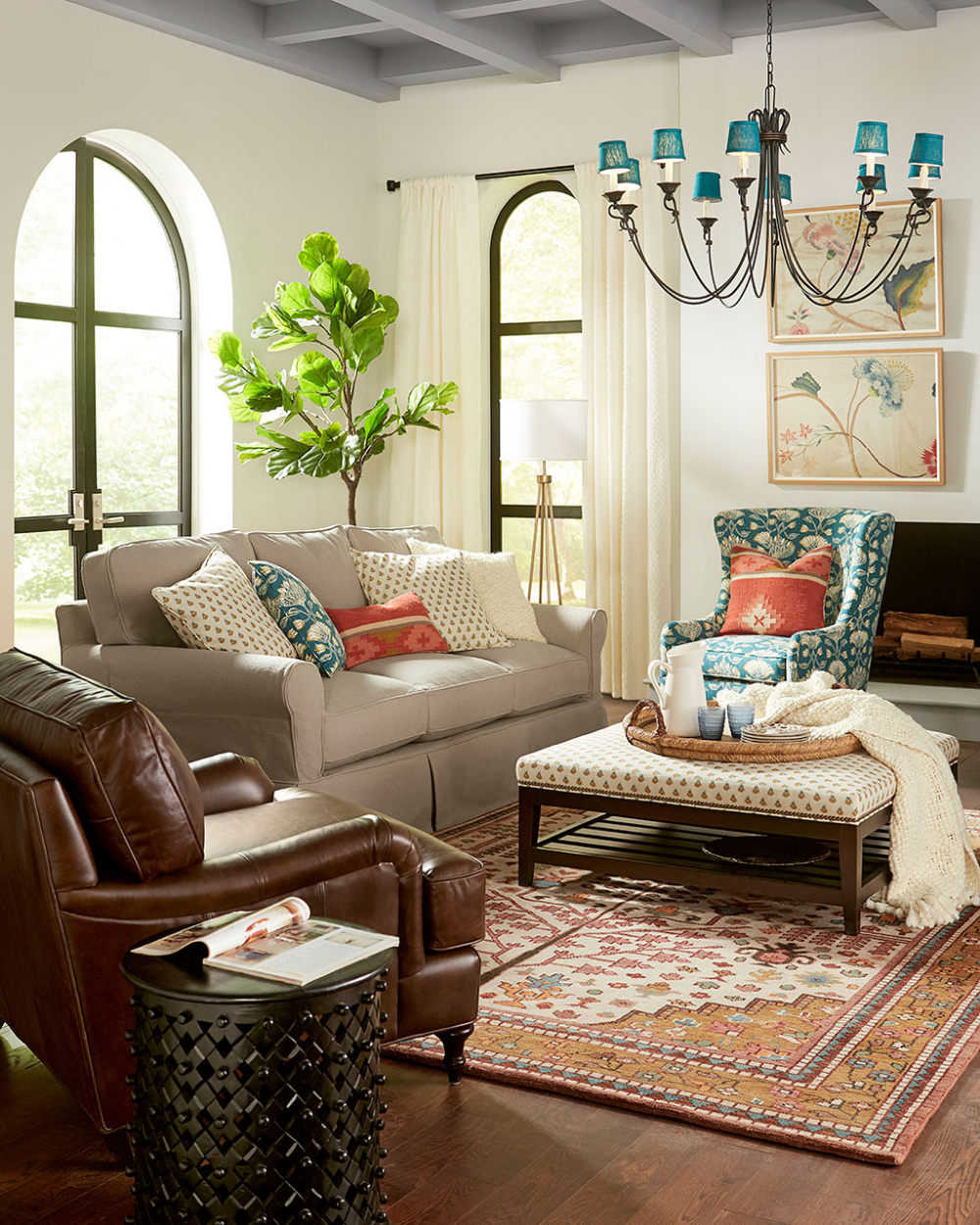 73 Eclectic Living Room Decor Ideas: Small Living Room Ideas For More Seating And Style