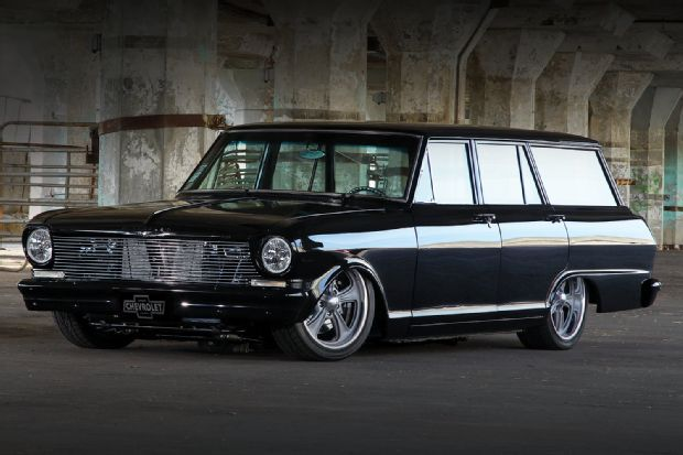 1963 Chevy Ii Nova Wagon The Black Box With Images Chevy