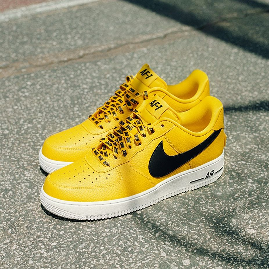 buy online 20c6a 95ad7 Love For The 1    Nike Air Force 1 Low NBA Amarillo Yellow White    Chicago  The Arena at State Street Store ONLY   Available Now