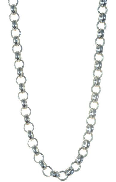 49b70df99 925 Sterling Silver Gents Belcher Chain - 20