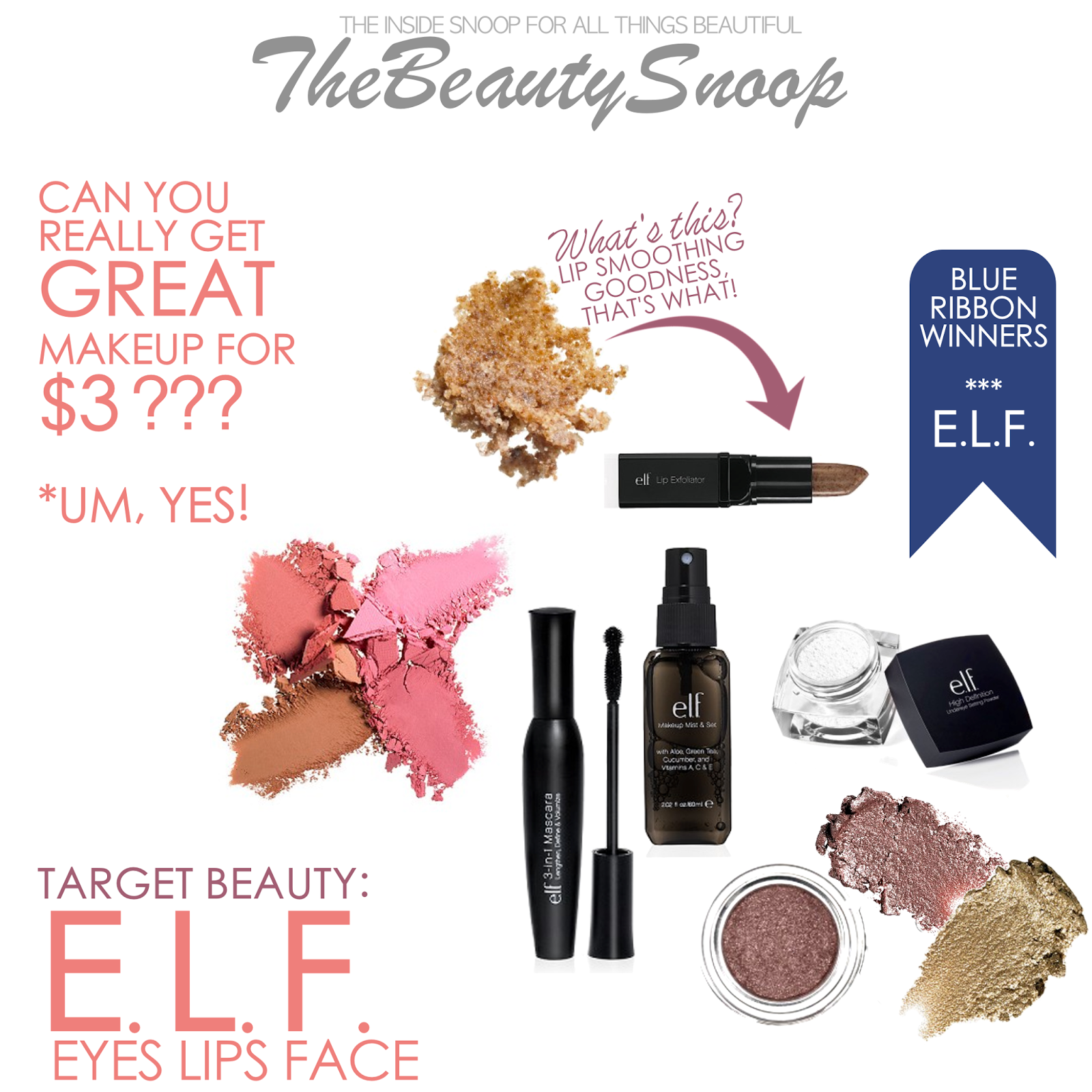 TARGET BEAUTY THE BEST OF E.L.F. COSMETICS Elf makeup
