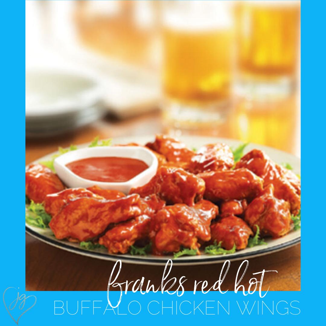 Frank S Red Hot Original Buffalo Chicken Wings Recipe Easy Chicken Wings Gluten Free Meal Plan Grilled Wings