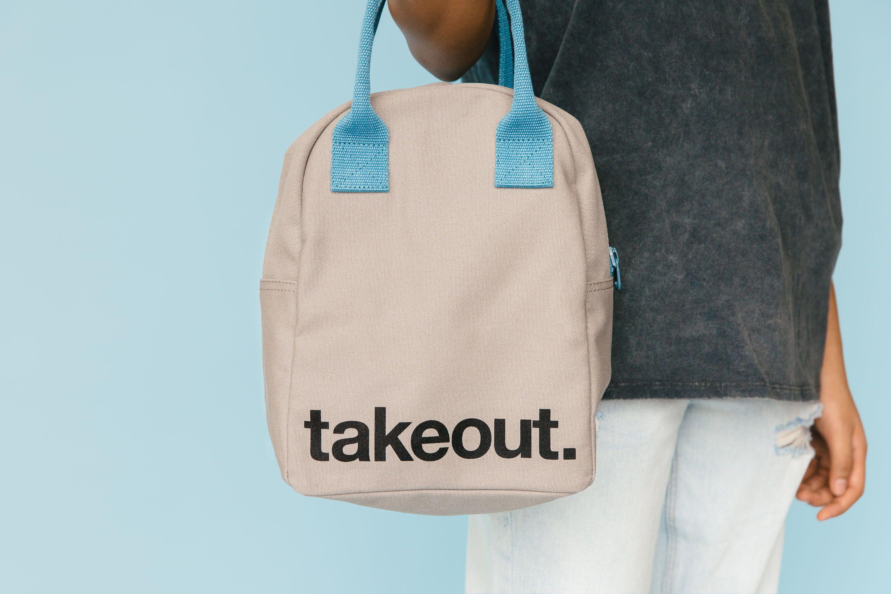 Fluf Zipper Lunch Bags Are Made With