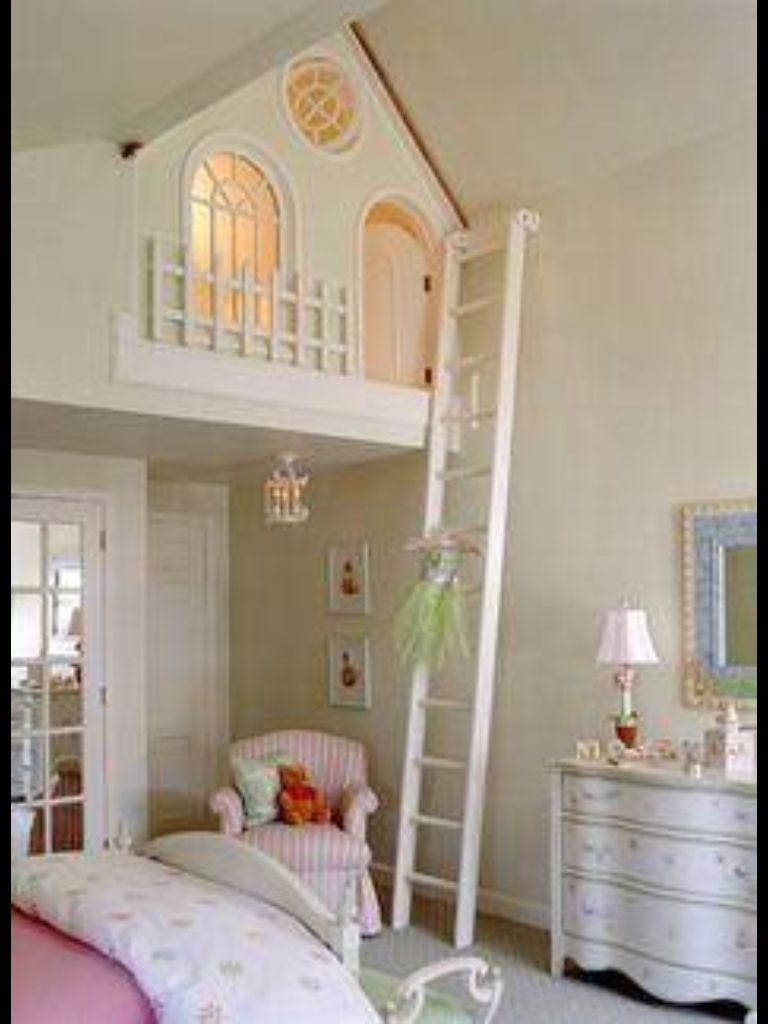 Secret hideaway for a little girls bedroom | Girls bedroom ...